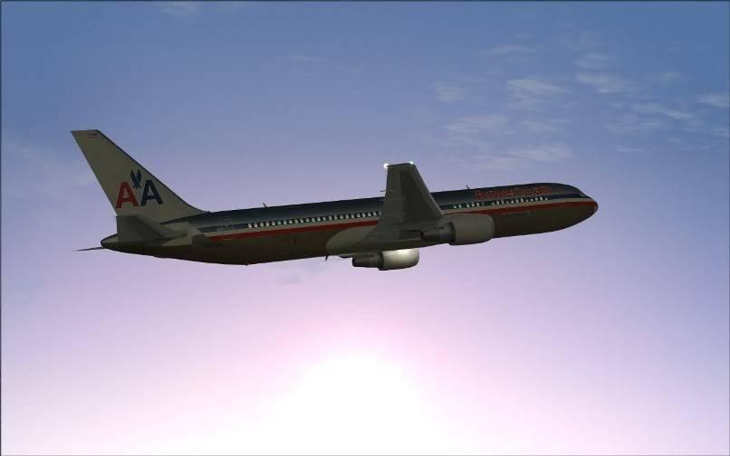 [FS9] KJFK - SBGR / B763 American Airlines Leveld FS2004-008