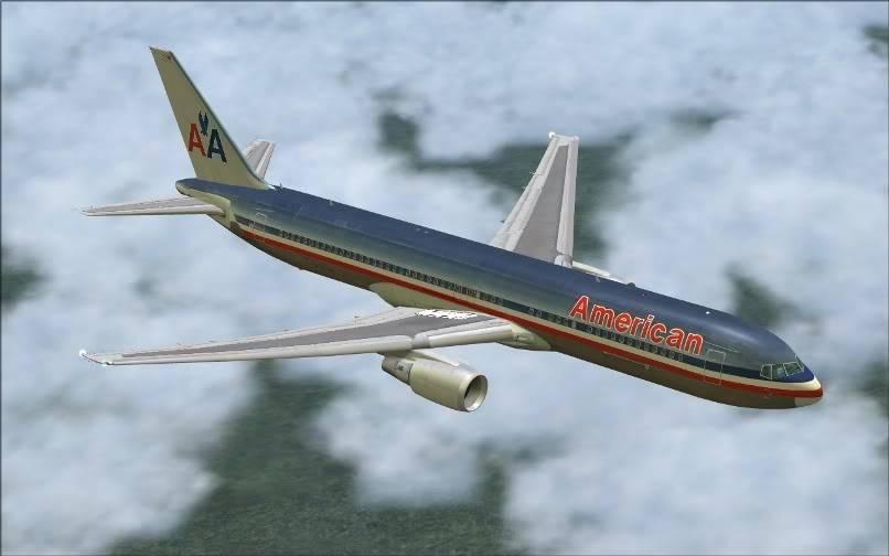[FS9] KJFK - SBGR / B763 American Airlines Leveld FS2004-010