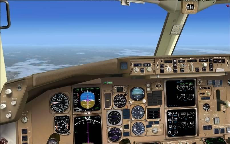 [FS9] KJFK - SBGR / B763 American Airlines Leveld FS2004-011