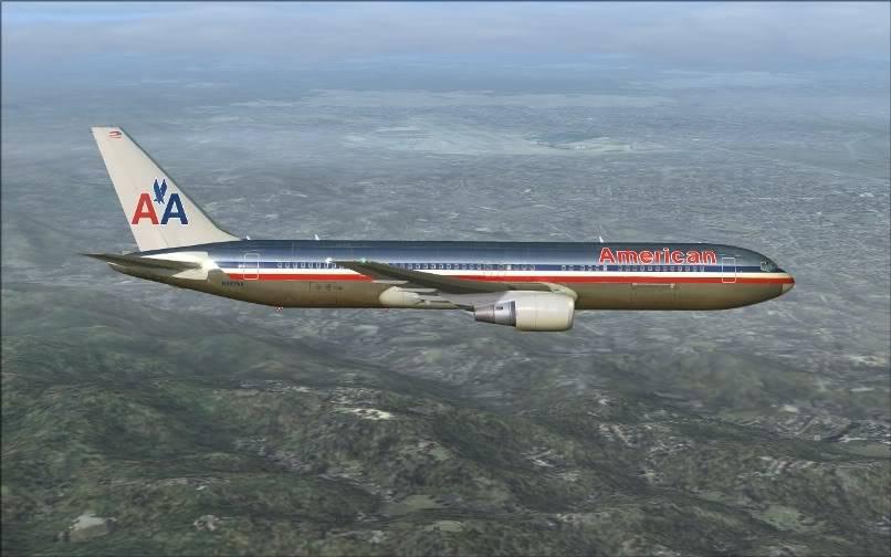 [FS9] KJFK - SBGR / B763 American Airlines Leveld FS2004-014
