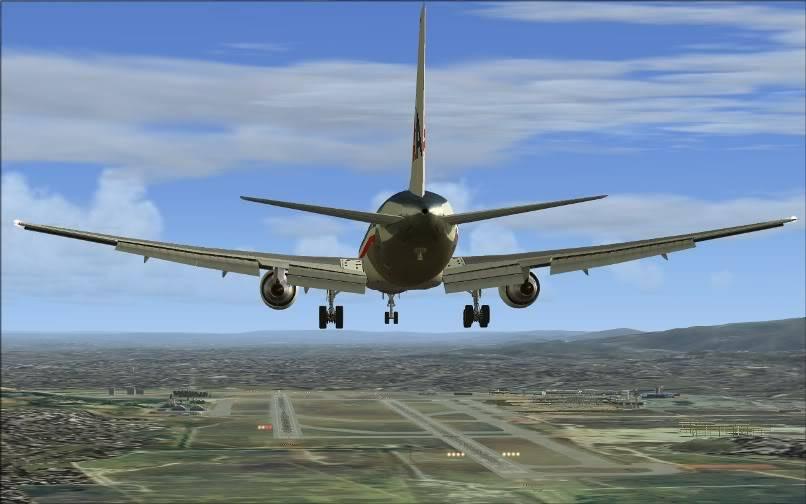 [FS9] KJFK - SBGR / B763 American Airlines Leveld FS2004-018