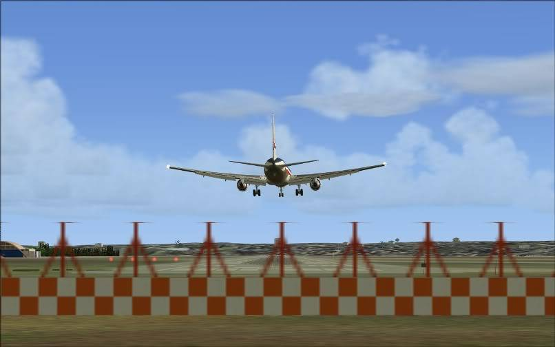 [FS9] KJFK - SBGR / B763 American Airlines Leveld FS2004-020