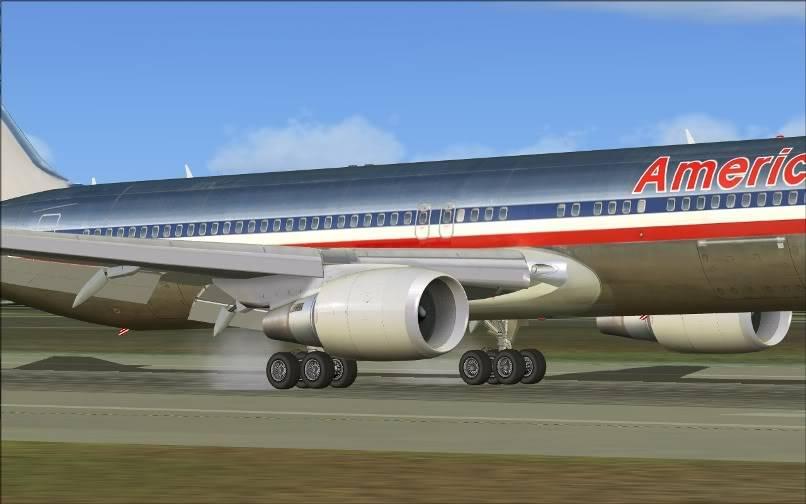 [FS9] KJFK - SBGR / B763 American Airlines Leveld FS2004-021