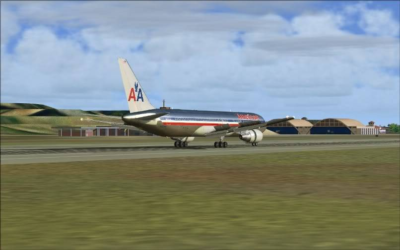 [FS9] KJFK - SBGR / B763 American Airlines Leveld FS2004-022