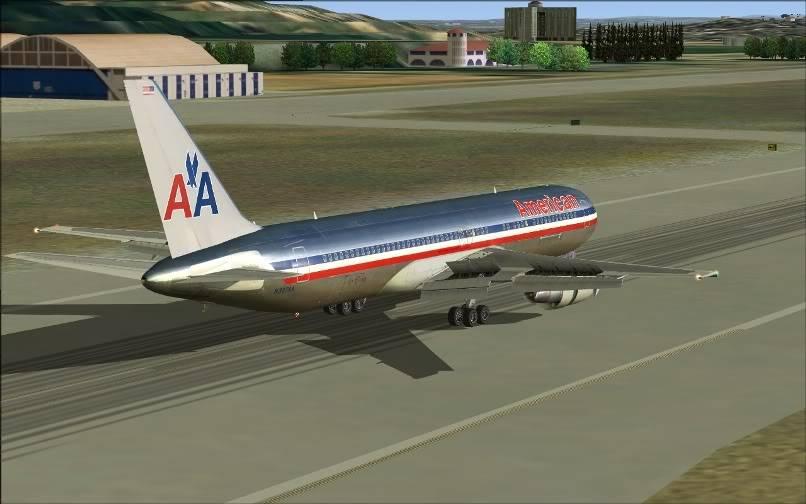 [FS9] KJFK - SBGR / B763 American Airlines Leveld FS2004-023