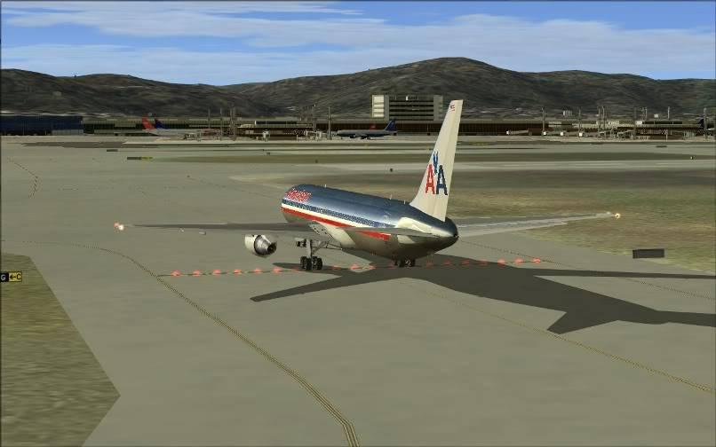 [FS9] KJFK - SBGR / B763 American Airlines Leveld FS2004-025