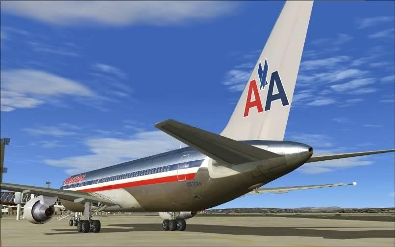 [FS9] KJFK - SBGR / B763 American Airlines Leveld FS2004-027