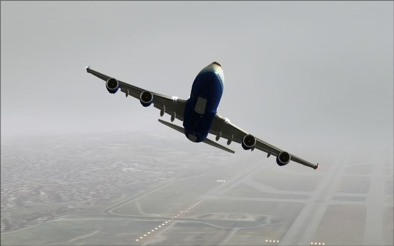 [FS9] SBGR - KJFK / B744 United PMDG FS2004-009