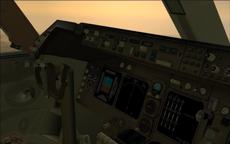[FS9] SBGR - KJFK / B744 United PMDG FS2004-013