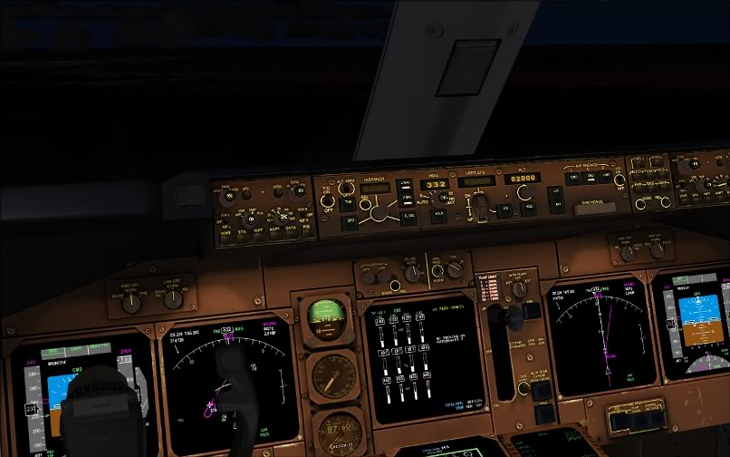 [FS9] SBGR - KJFK / B744 United PMDG FS2004-023