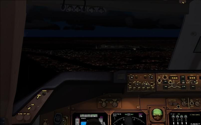 [FS9] SBGR - KJFK / B744 United PMDG FS2004-028