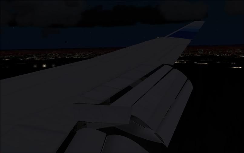 [FS9] SBGR - KJFK / B744 United PMDG FS2004-031