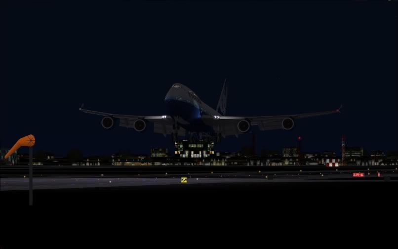 [FS9] SBGR - KJFK / B744 United PMDG FS2004-032