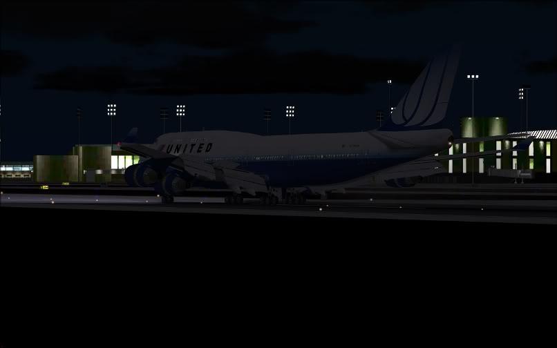 [FS9] SBGR - KJFK / B744 United PMDG FS2004-033