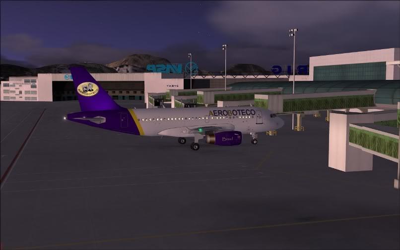 [FS9] Ponte Rio-São Paulo / A320 Aeroboteco ScreenShot001