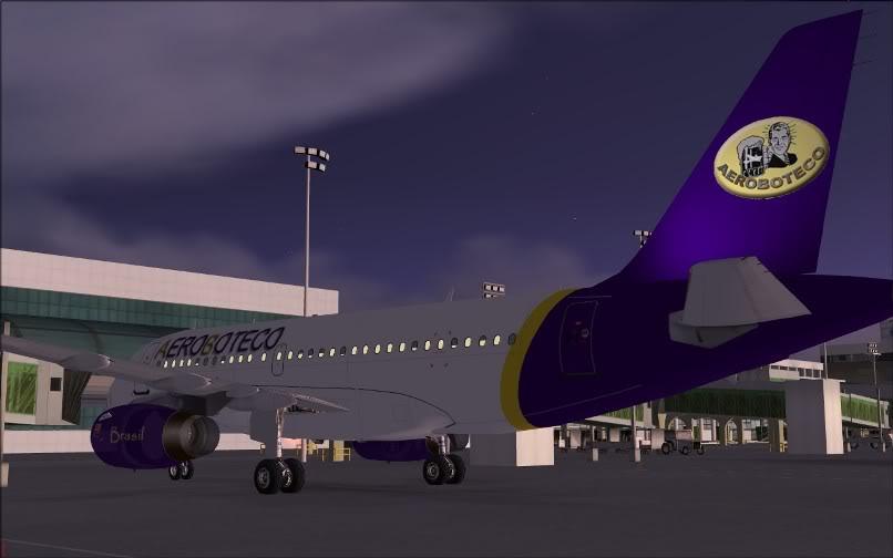 [FS9] Ponte Rio-São Paulo / A320 Aeroboteco ScreenShot003
