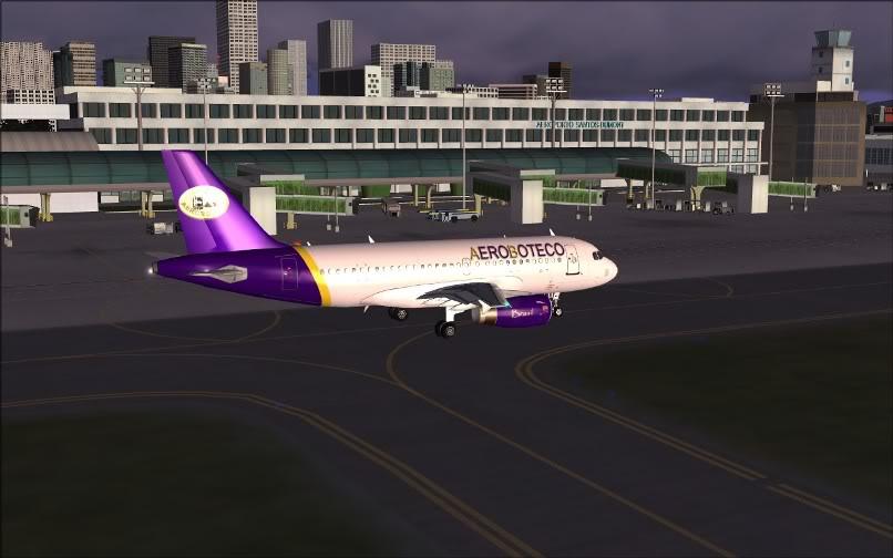 [FS9] Ponte Rio-São Paulo / A320 Aeroboteco ScreenShot005