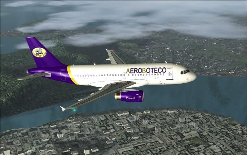 [FS9] Ponte Rio-São Paulo / A320 Aeroboteco ScreenShot013