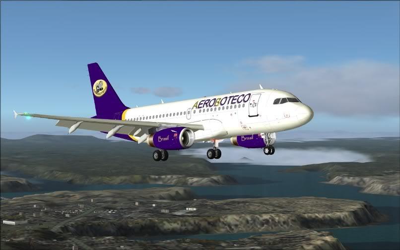 [FS9] Ponte Rio-São Paulo / A320 Aeroboteco ScreenShot016