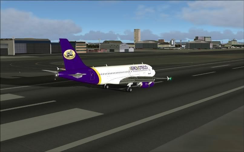 [FS9] Ponte Rio-São Paulo / A320 Aeroboteco ScreenShot021