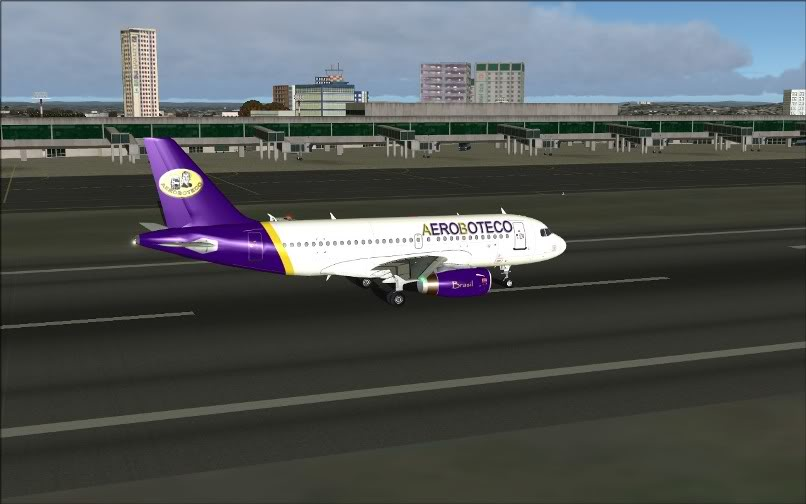 [FS9] Ponte Rio-São Paulo / A320 Aeroboteco ScreenShot023