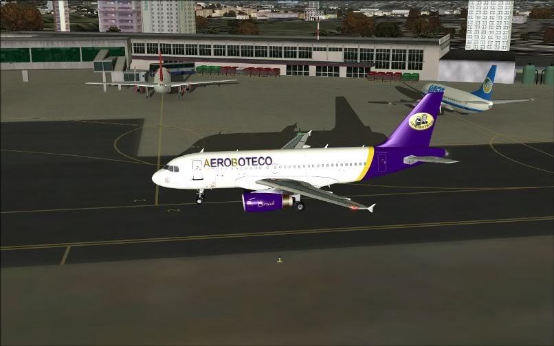[FS9] Ponte Rio-São Paulo / A320 Aeroboteco ScreenShot024