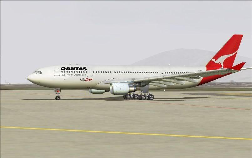 [FS9] Santiago (Chile) - Guarulhos / A330 Qantas Wilco FS2004-046