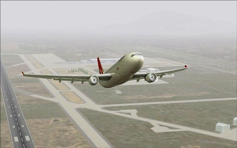 [FS9] Santiago (Chile) - Guarulhos / A330 Qantas Wilco FS2004-049