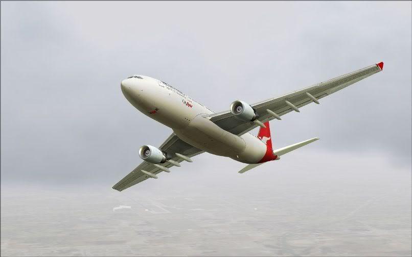 [FS9] Santiago (Chile) - Guarulhos / A330 Qantas Wilco FS2004-050