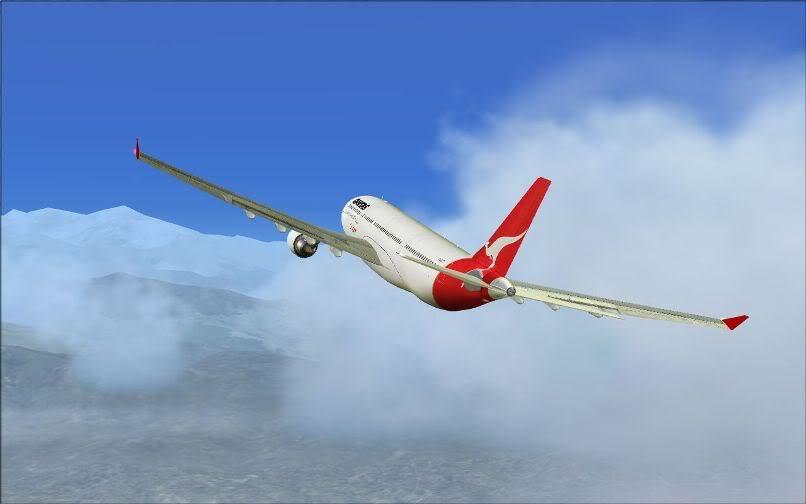 [FS9] Santiago (Chile) - Guarulhos / A330 Qantas Wilco FS2004-051