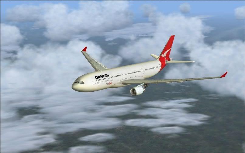 [FS9] Santiago (Chile) - Guarulhos / A330 Qantas Wilco FS2004-057