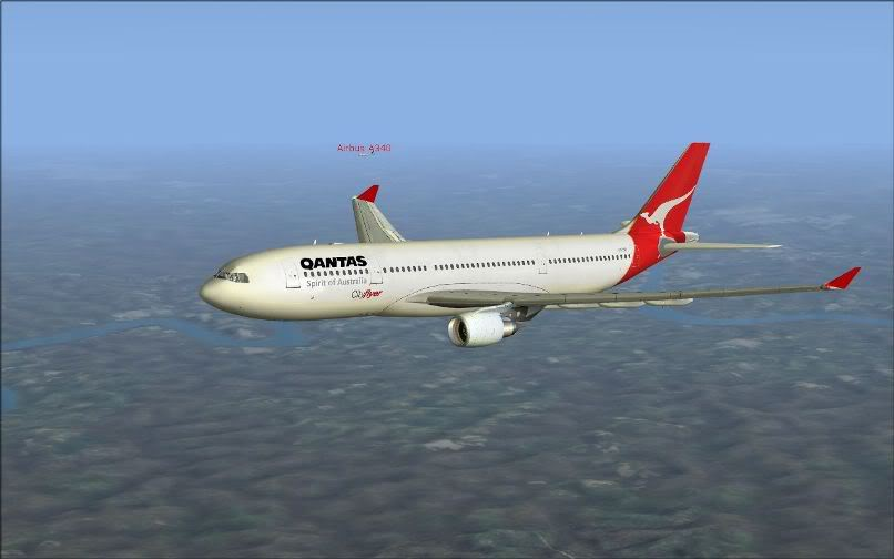 [FS9] Santiago (Chile) - Guarulhos / A330 Qantas Wilco FS2004-059
