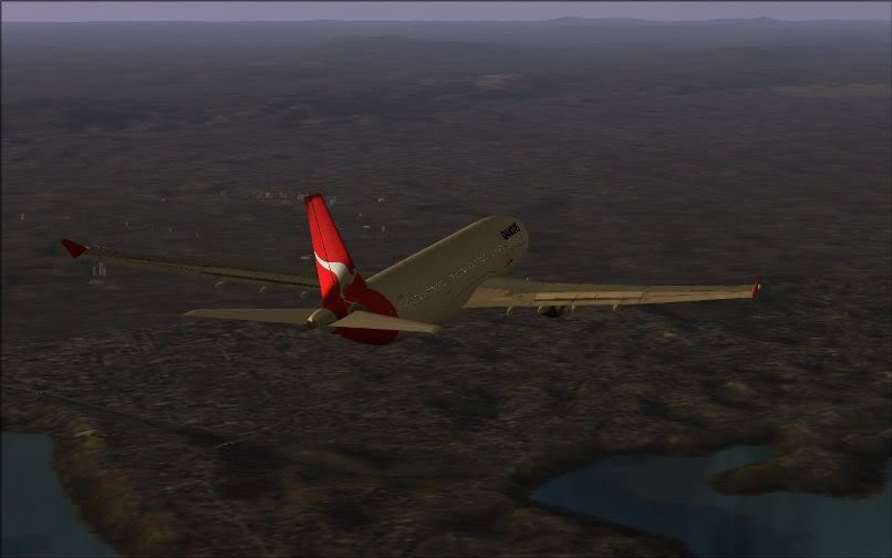 [FS9] Santiago (Chile) - Guarulhos / A330 Qantas Wilco FS2004-061