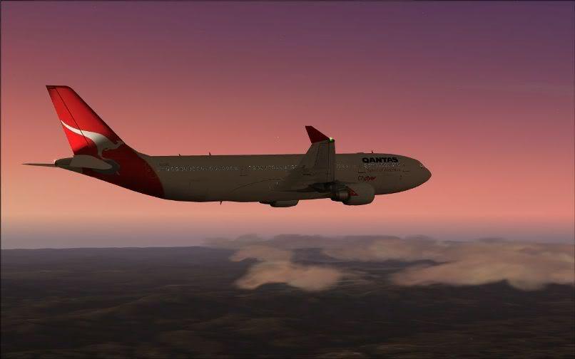 [FS9] Santiago (Chile) - Guarulhos / A330 Qantas Wilco FS2004-063