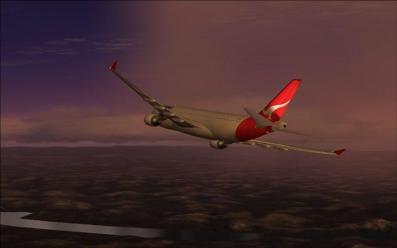 [FS9] Santiago (Chile) - Guarulhos / A330 Qantas Wilco FS2004-064