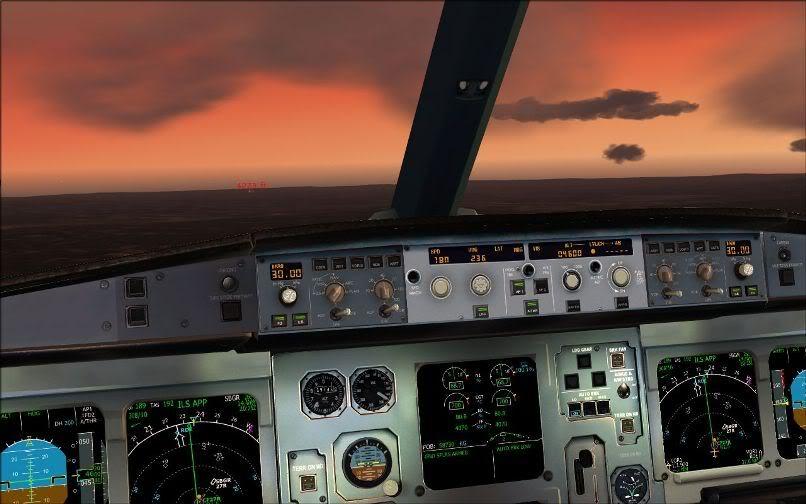 [FS9] Santiago (Chile) - Guarulhos / A330 Qantas Wilco FS2004-065