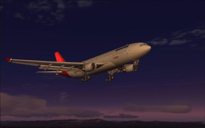 [FS9] Santiago (Chile) - Guarulhos / A330 Qantas Wilco FS2004-066