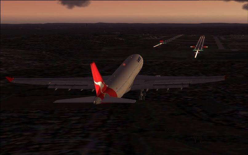 [FS9] Santiago (Chile) - Guarulhos / A330 Qantas Wilco FS2004-067