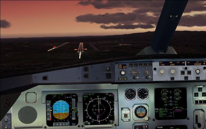 [FS9] Santiago (Chile) - Guarulhos / A330 Qantas Wilco FS2004-068