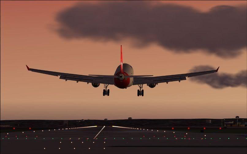 [FS9] Santiago (Chile) - Guarulhos / A330 Qantas Wilco FS2004-070