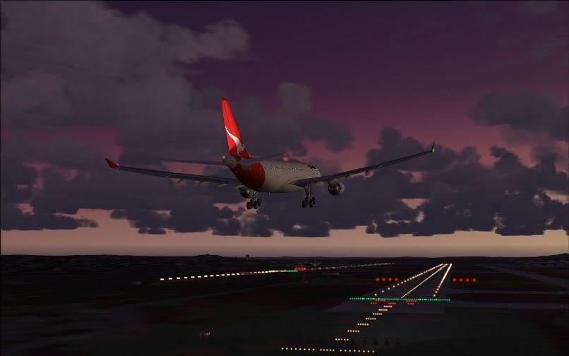[FS9] Santiago (Chile) - Guarulhos / A330 Qantas Wilco FS2004-071
