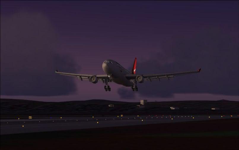 [FS9] Santiago (Chile) - Guarulhos / A330 Qantas Wilco FS2004-072