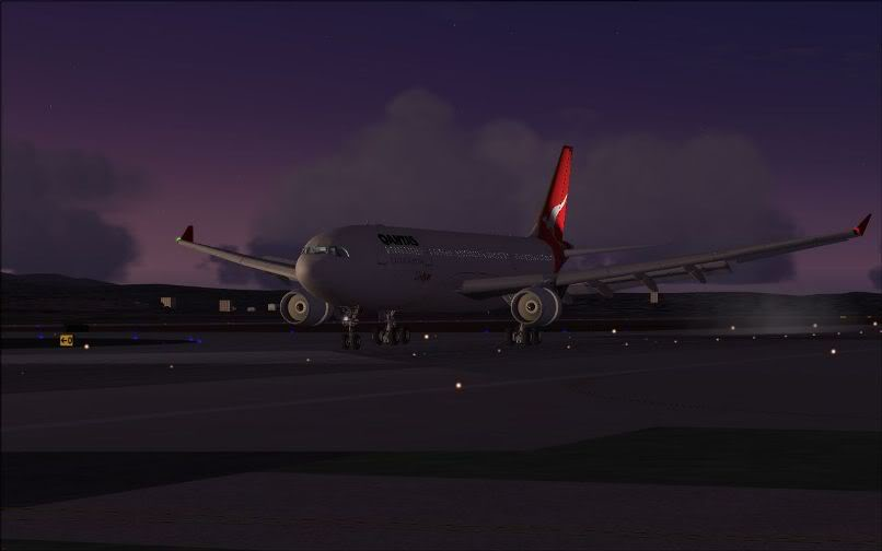 [FS9] Santiago (Chile) - Guarulhos / A330 Qantas Wilco FS2004-073