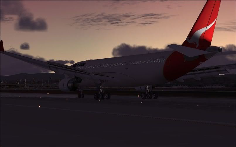 [FS9] Santiago (Chile) - Guarulhos / A330 Qantas Wilco FS2004-074