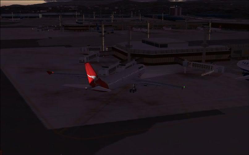 [FS9] Santiago (Chile) - Guarulhos / A330 Qantas Wilco FS2004-075