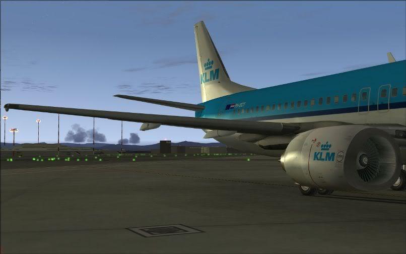[FS9] LIRF - LOWI / 737 KLM FS2004-002