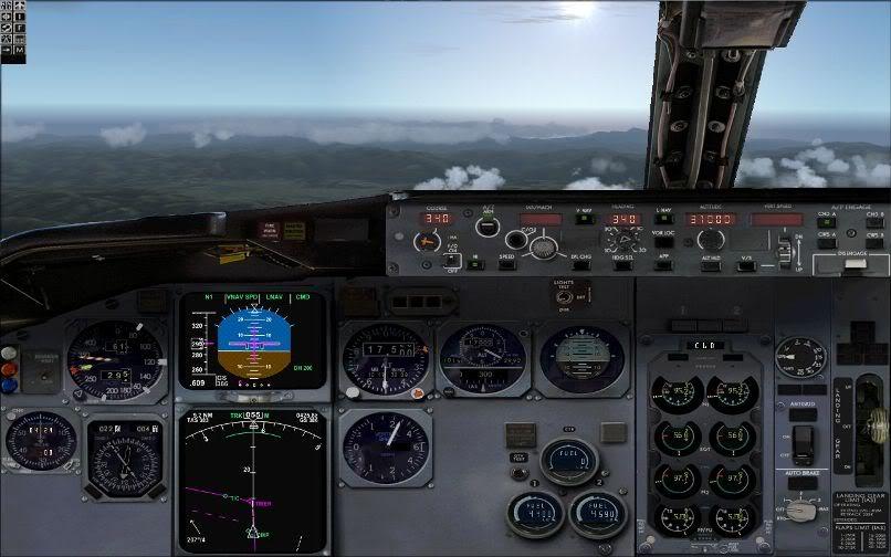 [FS9] LIRF - LOWI / 737 KLM FS2004-014
