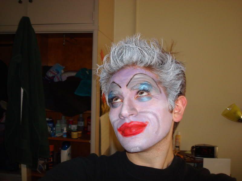 Theatrical makeup DSC01823