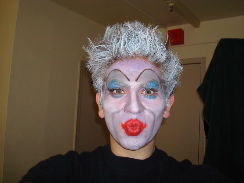 Theatrical makeup DSC01826
