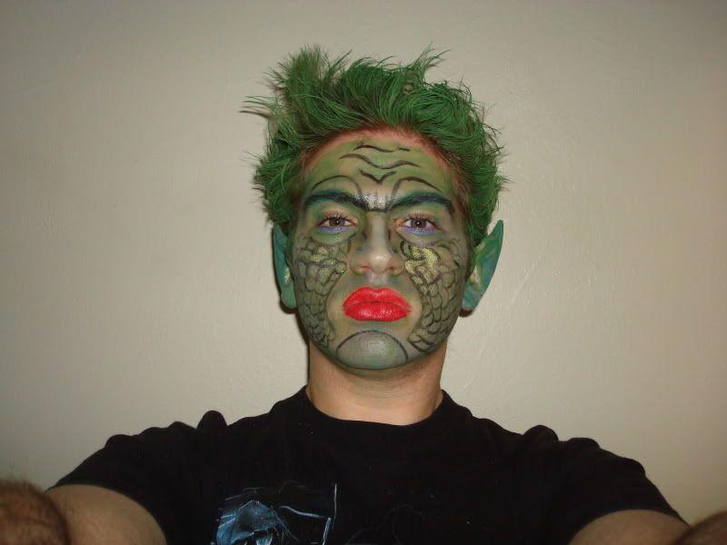 Theatrical makeup DSC01676